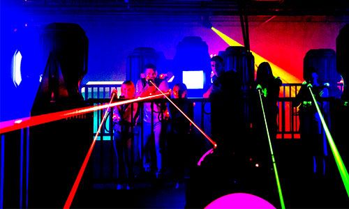 Enjoy two level lasertag at XtremeCraze in Londononderry NH
