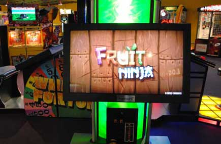 Fruit Ninja arcade games in the GameZone too!