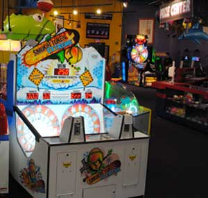 Smoken Token arcade games in the GameZone too!