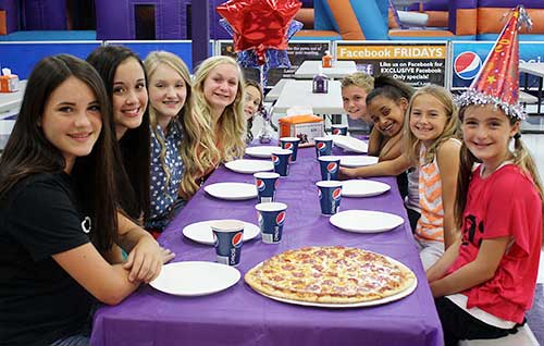 Girls have great fun at birthday parties at XtremeCraze