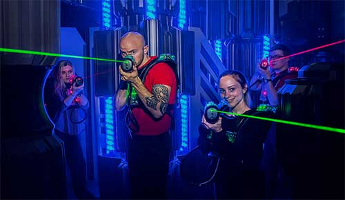 Play Laser Tag at XtremeCraze in Woburn & North Andover, MA