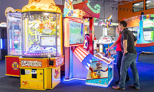 Adults will enjoy our cool selection of interactive and test-your-skill games too.