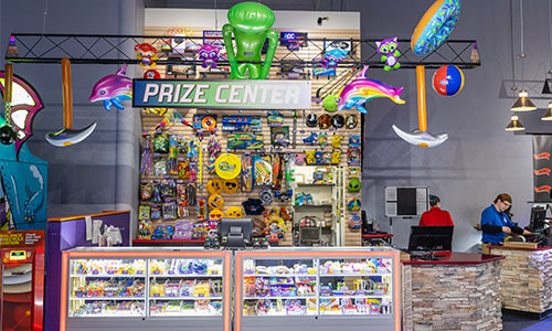 Select from a wide variety of unique fun prizes at the XtremeCraze Prize Center.