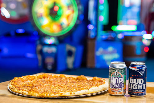 Enjoy delicious pizza and cold refreshing beer and soft drinks at  your group event in Londonderry
