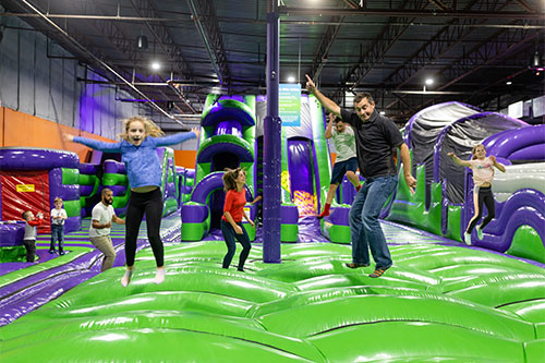 Have great fun at group events at XtremeCraze