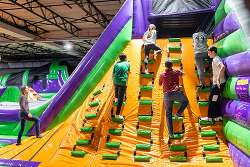 Have great fun at group events jumping in the airpark at XtremeCraze in Woburn MA