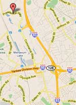 Google Map Directions to XtremeCraze in Woburn, MA